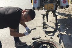 Reparieren und fertig