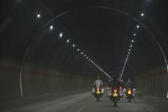 Der neue Tunnel - der ganze Stolz