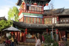 Großartige Naxi Architektur
